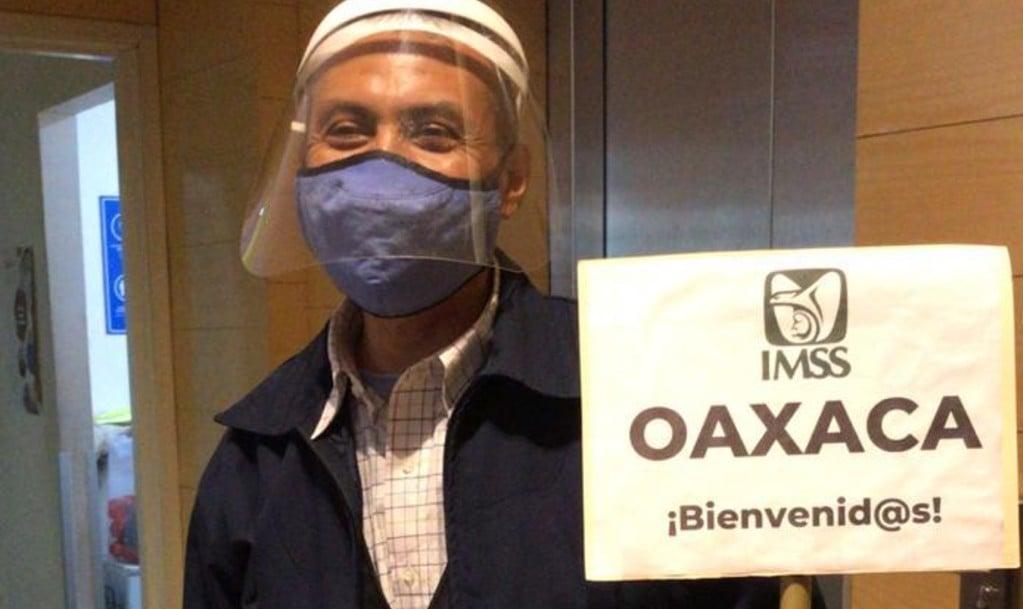 ¡Llegaron refuerzos a CDMX!: Personal del IMSS Oaxaca participa en Operación Chapultepec contra Covid-19