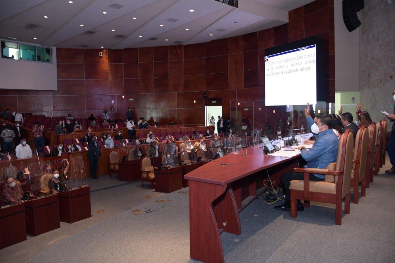 Aprueba Congreso de Oaxaca 76 mil mdp del presupuesto de egresos para 2021