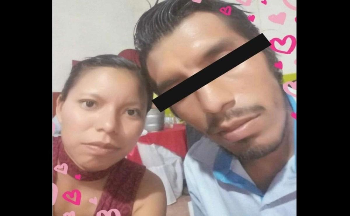 A Bertha su pareja la asesinó el día de Navidad en Unión Hidalgo, luego se dio a la fuga