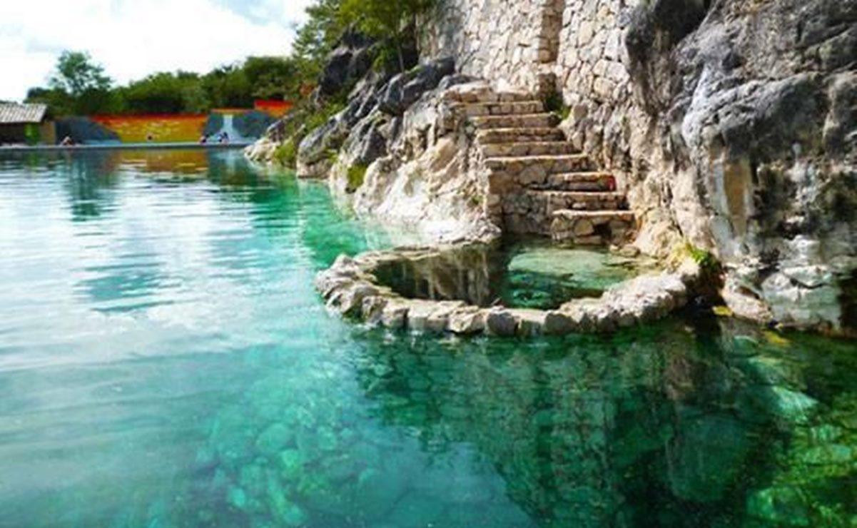 Ante Covid-19, cierran al turismo manantiales de Tamazulápam del Progreso, en la Mixteca