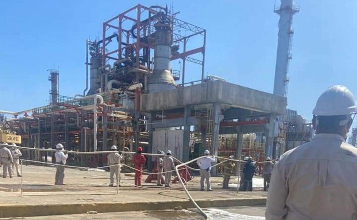 Explosión en refinería de Salina Cruz causa conato de incendio; no se reportan heridos