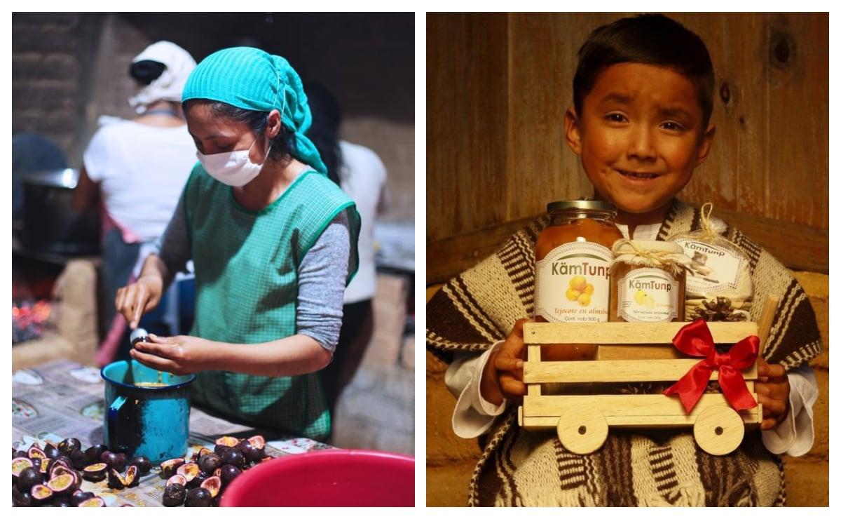 Transformando los frutos de sus parcelas, mujeres ayuujk siembran arraigo  y economía local
