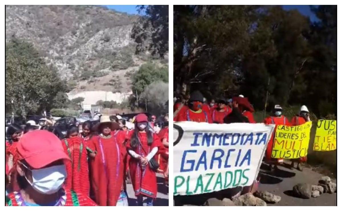 Anuncia Ubisort movilizaciones para exigir paz en Tierra Blanca Copala y familias triquis retornen