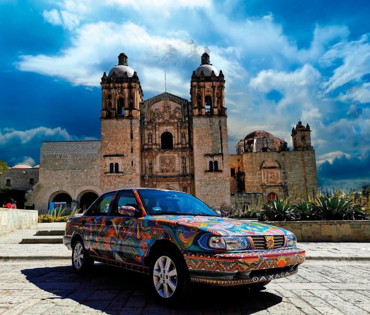 Lanzan homenaje a Oaxaca y a Tsuru con un modelo última edición tuneado de alebrije