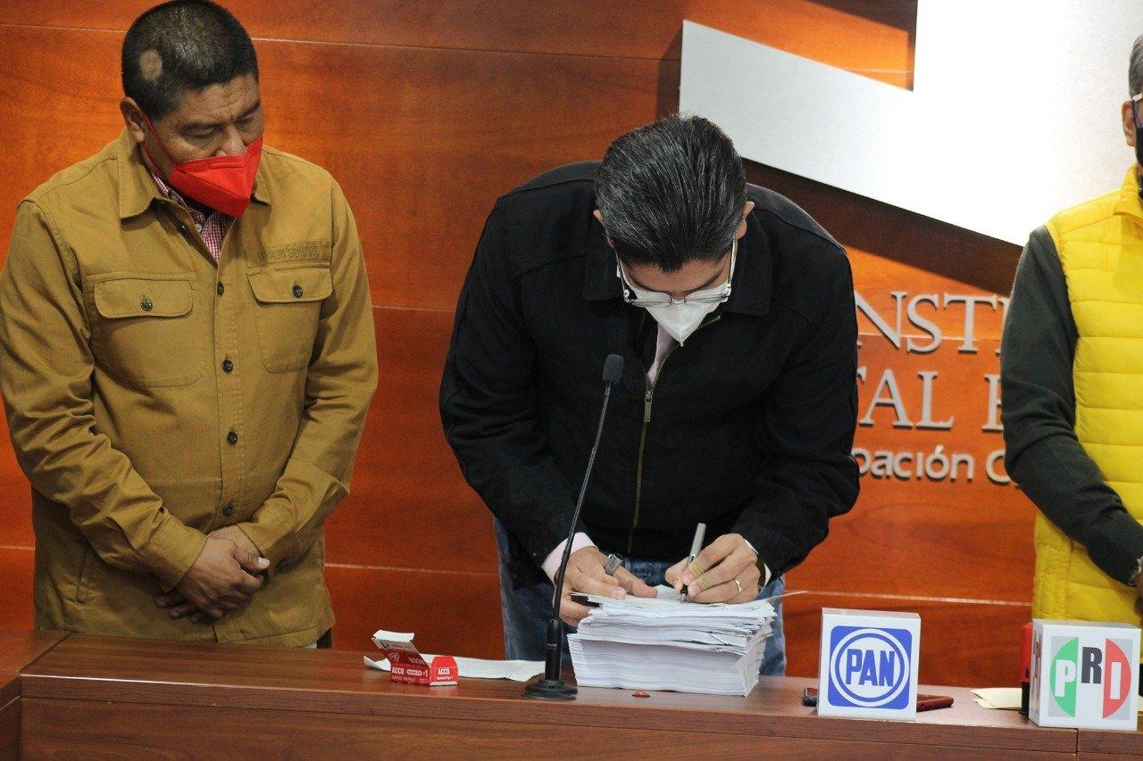 Van PRI, PAN y PRD ahora por alianza electoral para concejales en 153 municipios de Oaxaca