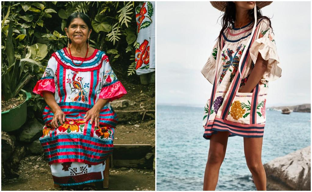 Indigna nuevo plagio de textiles por marca internacional, copiaron huipil del pueblo Mazateco de Oaxaca