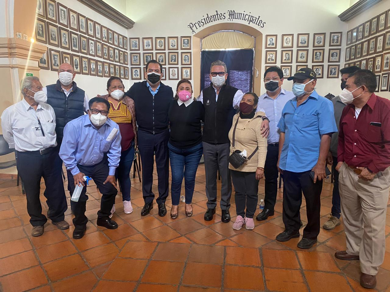 Acuerdan SESESP y comerciantes en vía pública plan contra Covid-19 en la capital de Oaxaca