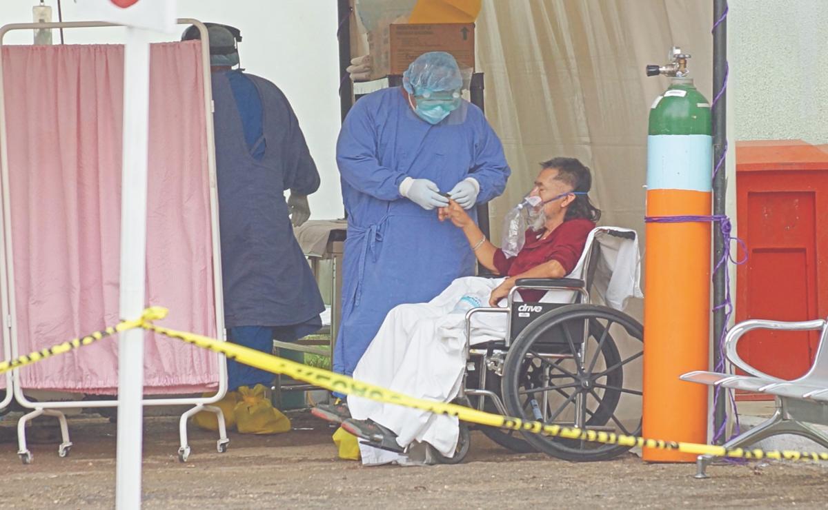 Alcanza Oaxaca pico de pacientes graves; hay 13 hospitales al 100% y sólo 272 camas disponibles: SSO
