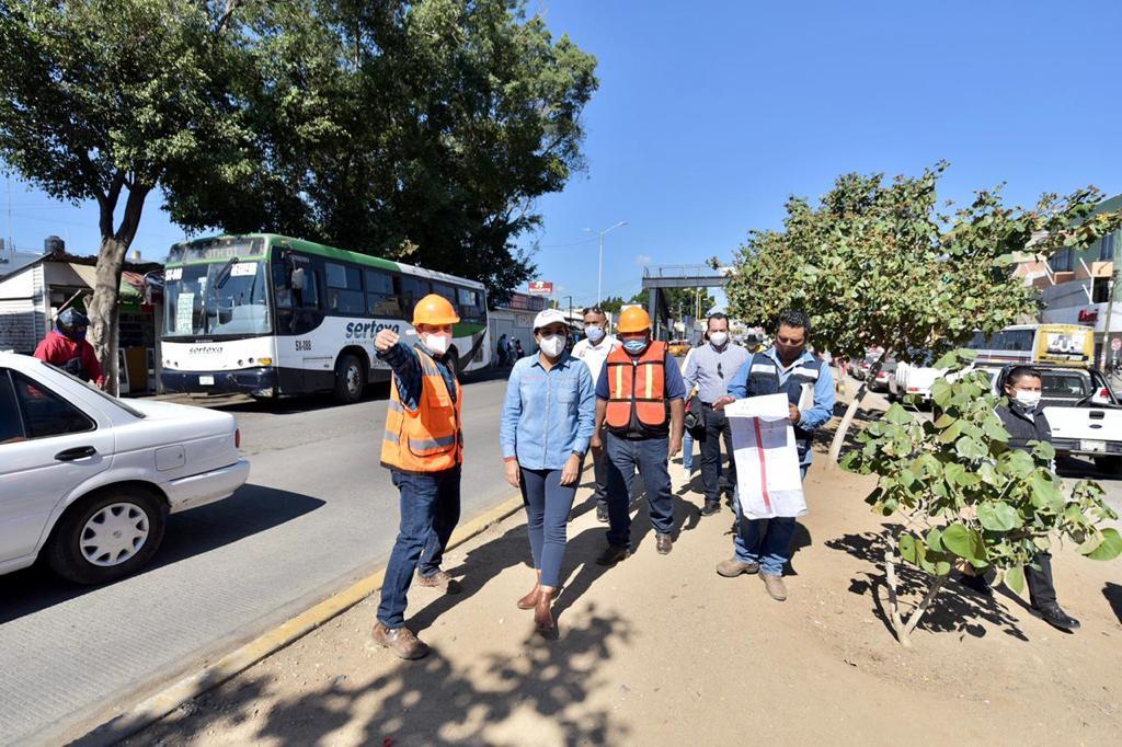 Arrancan obras para estaciones especiales del CityBus Oaxaca, desviarán circulación en Periférico