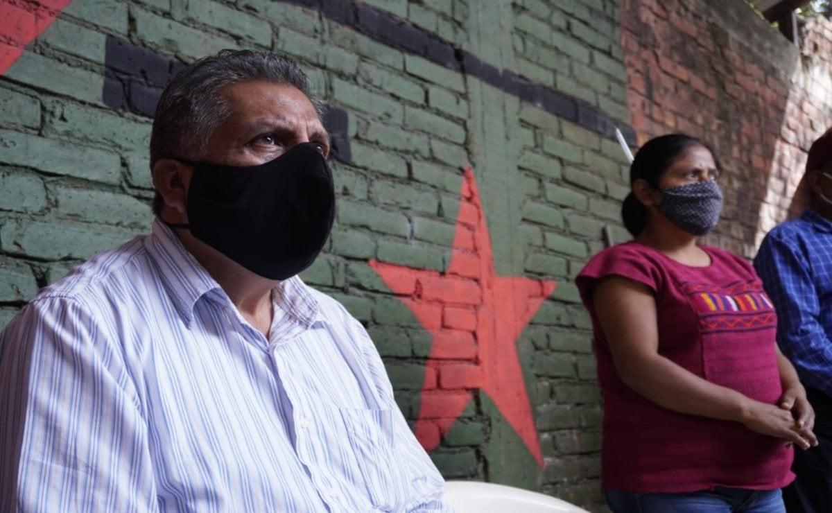 Se deslinda MULT de violencia en Tierra Blanca; con plantón urgen mesa de paz para la región triqui