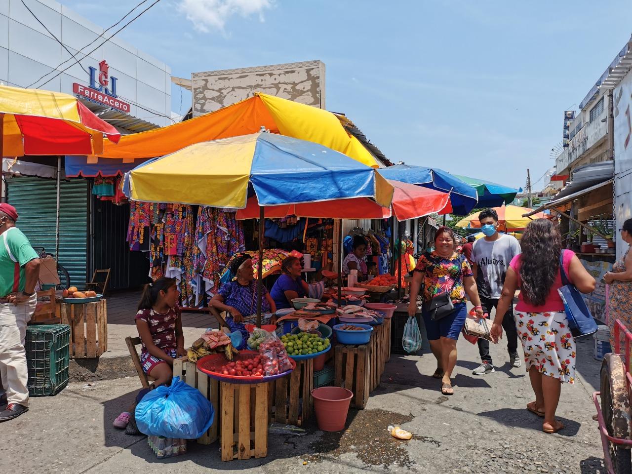 Ordena Juchitán cierre de mercados públicos en fin de semana, para frenar casos de Covid-19
