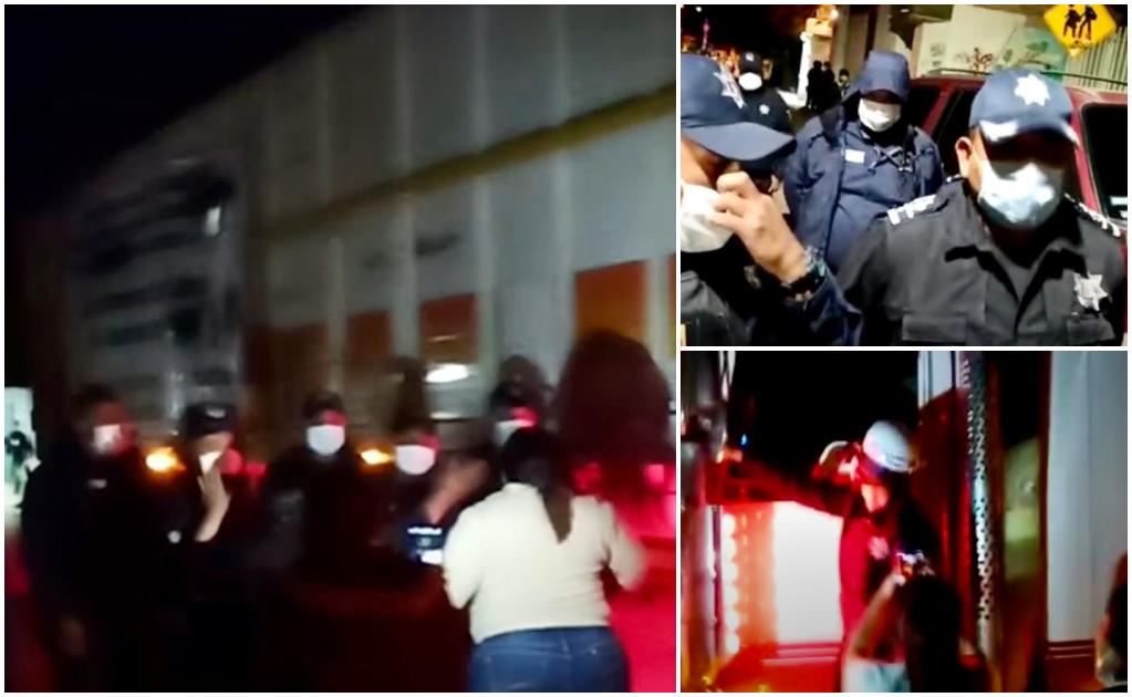 Impide Policía de Oaxaca paso de productores de Puebla que donarían hortalizas a pobladores