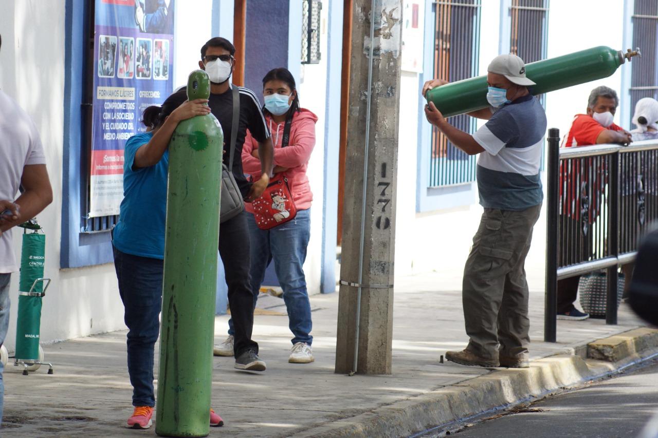 Congreso exhorta a gobierno de Oaxaca suministrar gratis oxígeno médico a enfermos por Covid-19