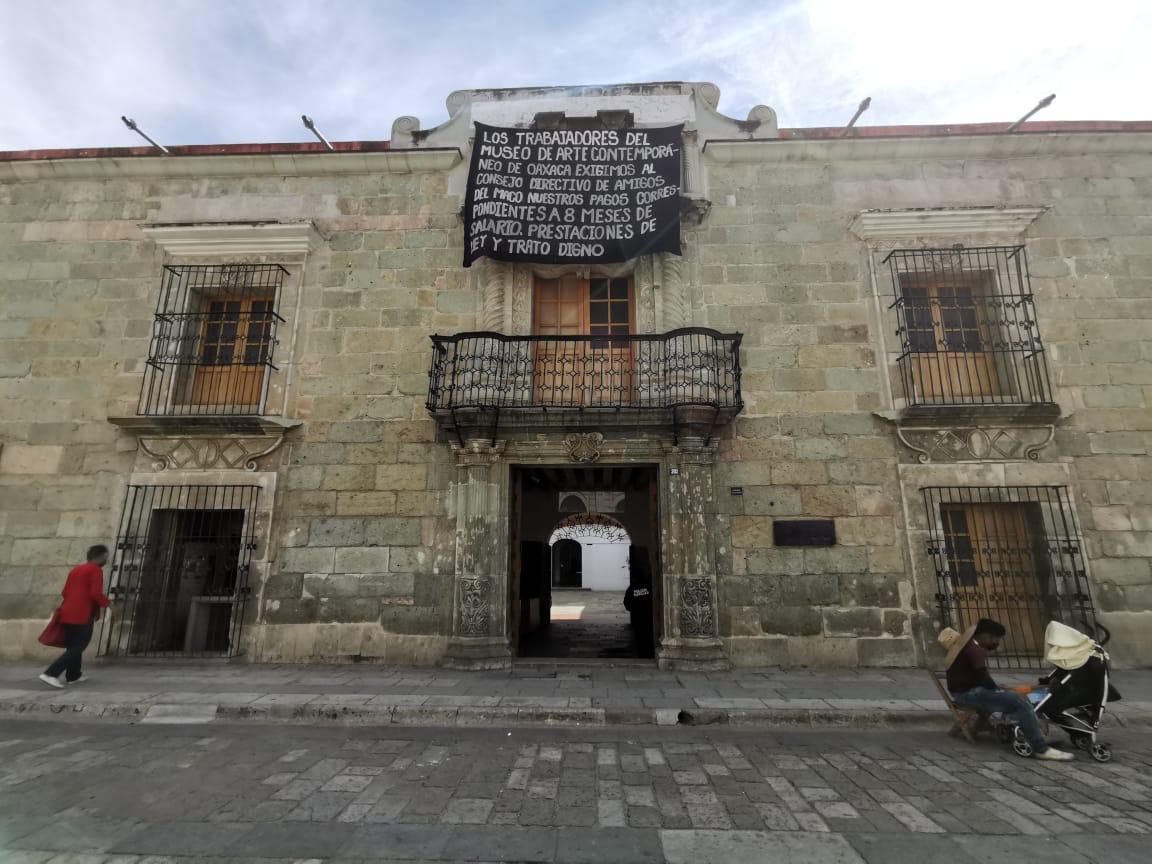 Acusan intención de entregar Museo de Arte Contemporáneo al gobierno de Oaxaca