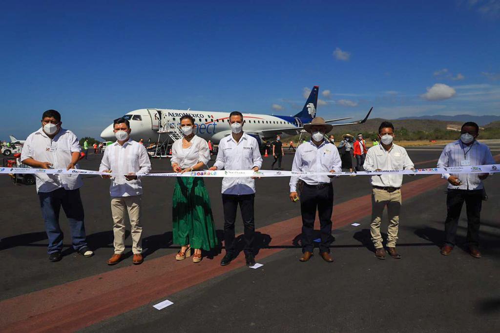 Estrena Oaxaca vuelo directo diario de CDMX a Puerto Escondido
