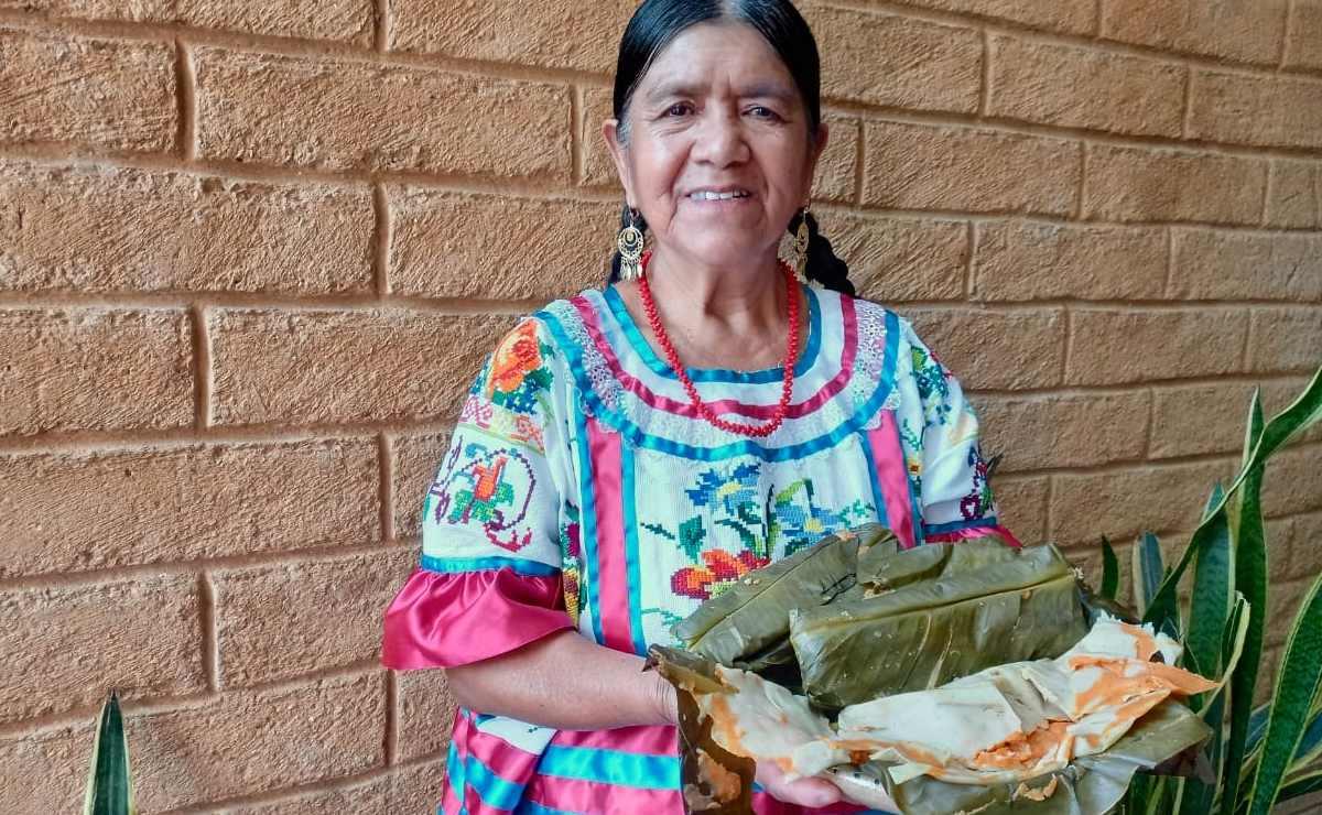 Tamal de Tesmole, un resguardo de los sabores mazatecos en la región Cañada de Oaxaca