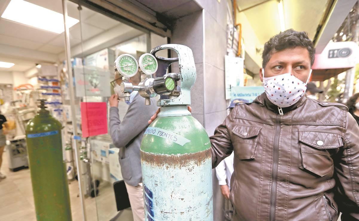 CNDH llama a prevenir y evitar escasez y encarecimiento de oxígeno medicinal
