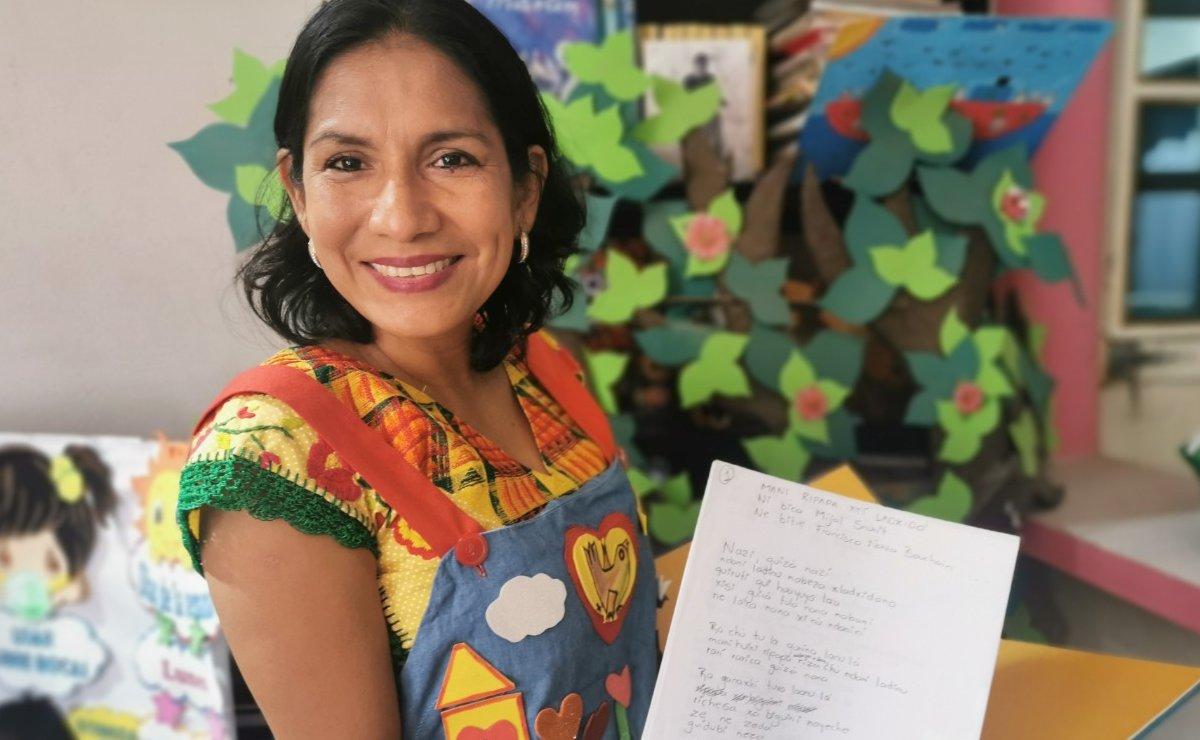 Felipa, maestra y cuenta cuentos que se volvió viral en redes por sus historias en zapoteco