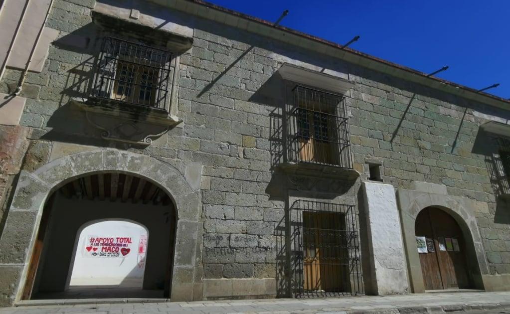 Rompen diálogo trabajadores y asociación Amigos del Museo de Arte Contemporáneo de Oaxaca