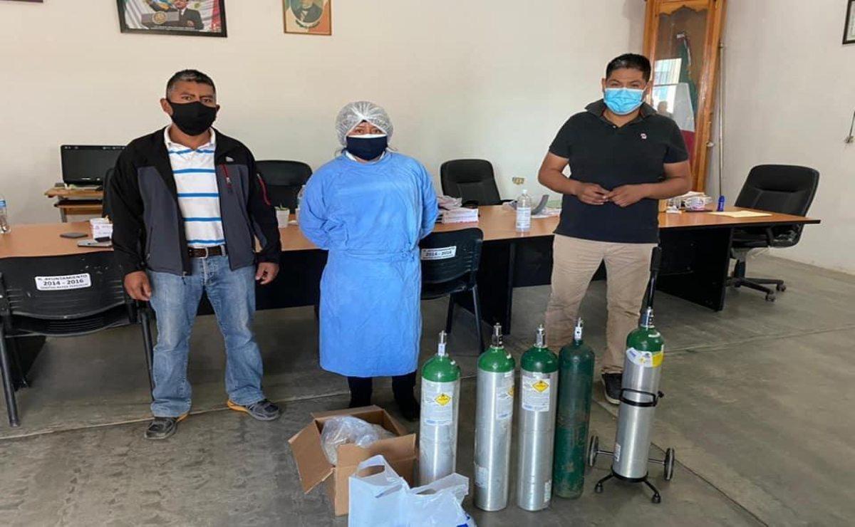 Ante repunte de Covid-19, demanda de oxígeno alcanza a municipios de otras regiones de Oaxaca