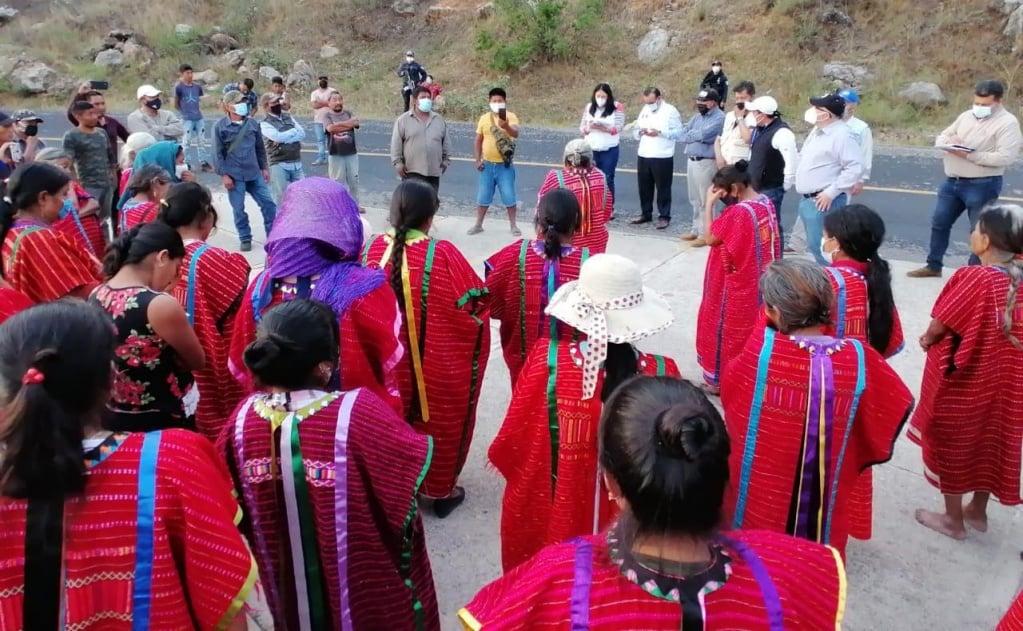 Anuncia Segob plan integral para atender a desplazados por violencia en la región Triqui de Oaxaca