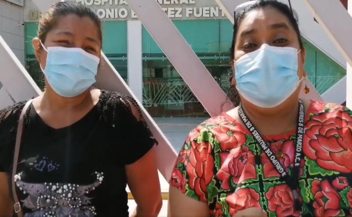 Exigen justicia para Carolina, hospitalizada en Juchitán al escapar de su pareja que intentó asesinarla