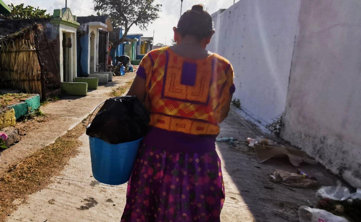 Mujeres y niños, los más vulnerables a estrés y depresión a causa de la pandemia en Juchitán
