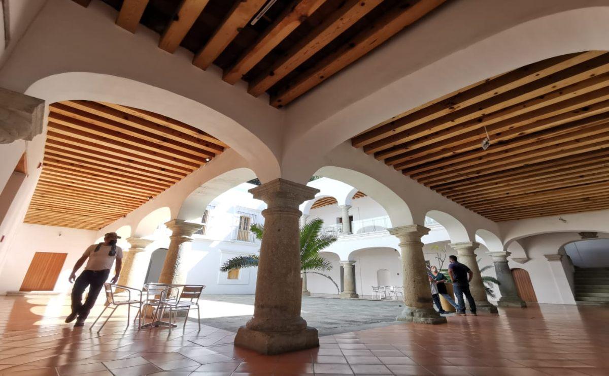 Tras reunión, otorgan primer pago a trabajadores del Museo de Arte Contemporáneo de Oaxaca