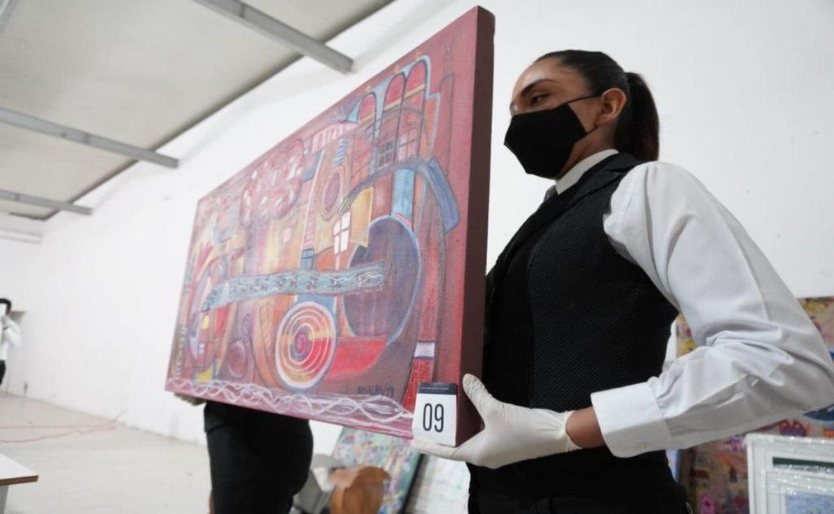 Subastan obras de 30 artistas para apoyar a trabajadores del Museo de Arte Contemporáneo de Oaxaca