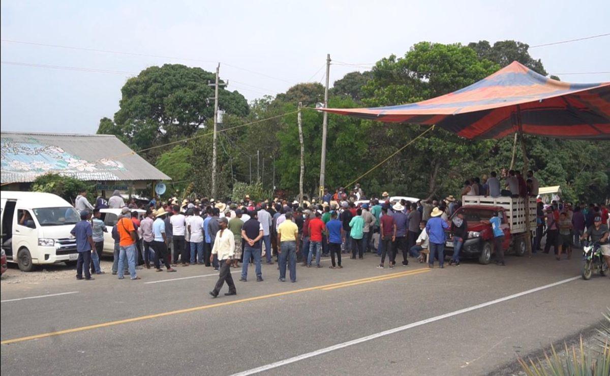 Descarta Gobierno de Oaxaca  uso de la fuerza para desalojar bloqueo que lleva 7 días en el Istmo; pide Defensoría a la Guardia Nacional