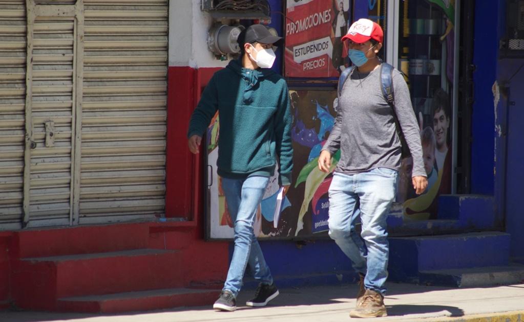 Hay 831 casos activos de Covid-19 en Oaxaca; reportan 14 hospitales saturados