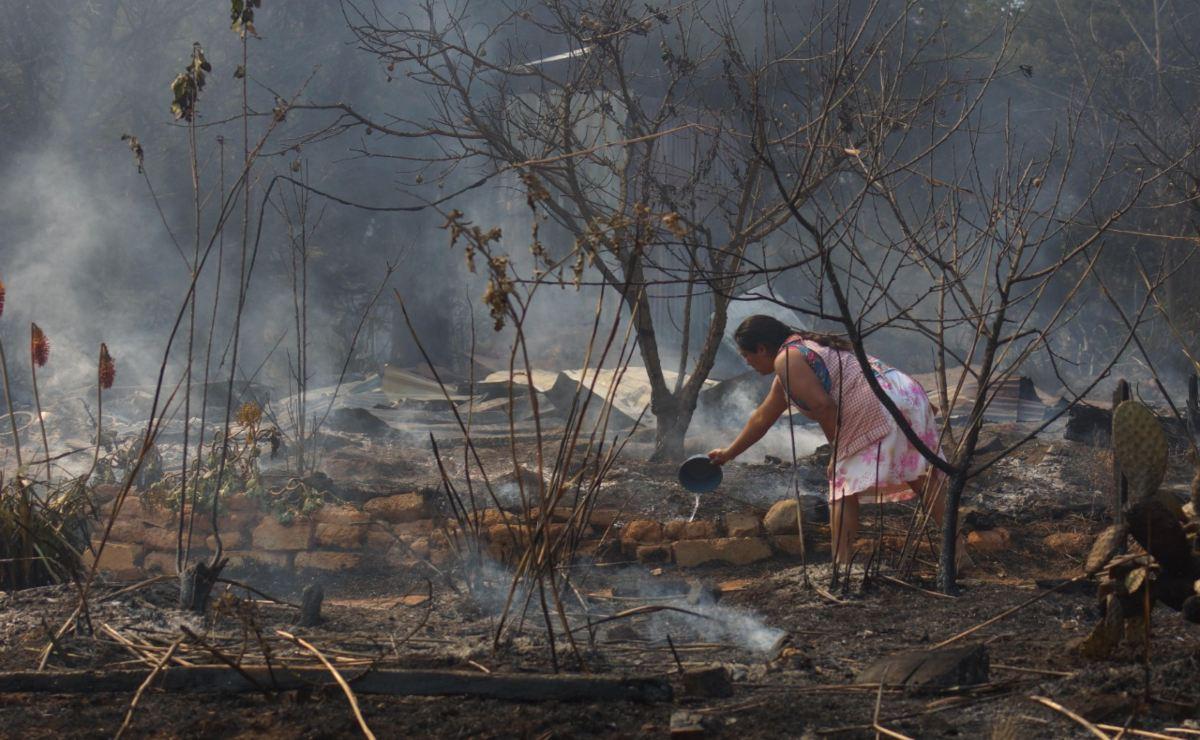 Después de casi 3 días, reportan controlado incendio forestal en Peñoles; hay 6 activos en Oaxaca