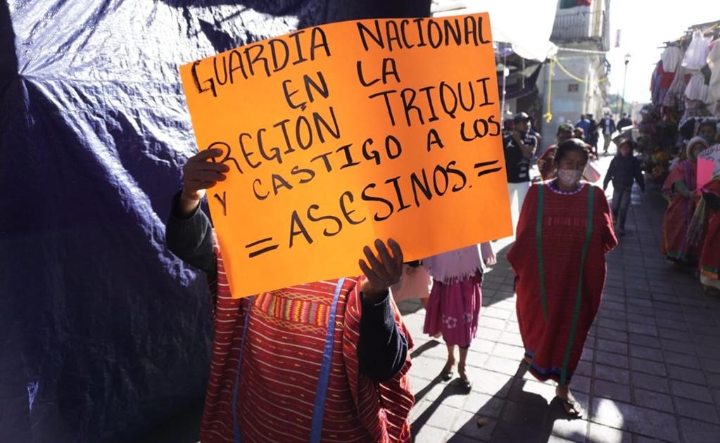 Acusan al MULT de impedir ingreso de la Guardia Nacional tras reactivación de violencia en región Triqui