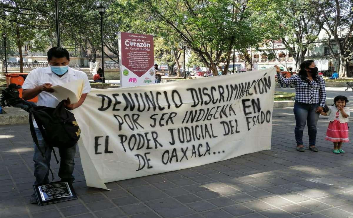 Perito intérprete de lenguas originarias denuncia despido injustificado del Poder Judicial de Oaxaca