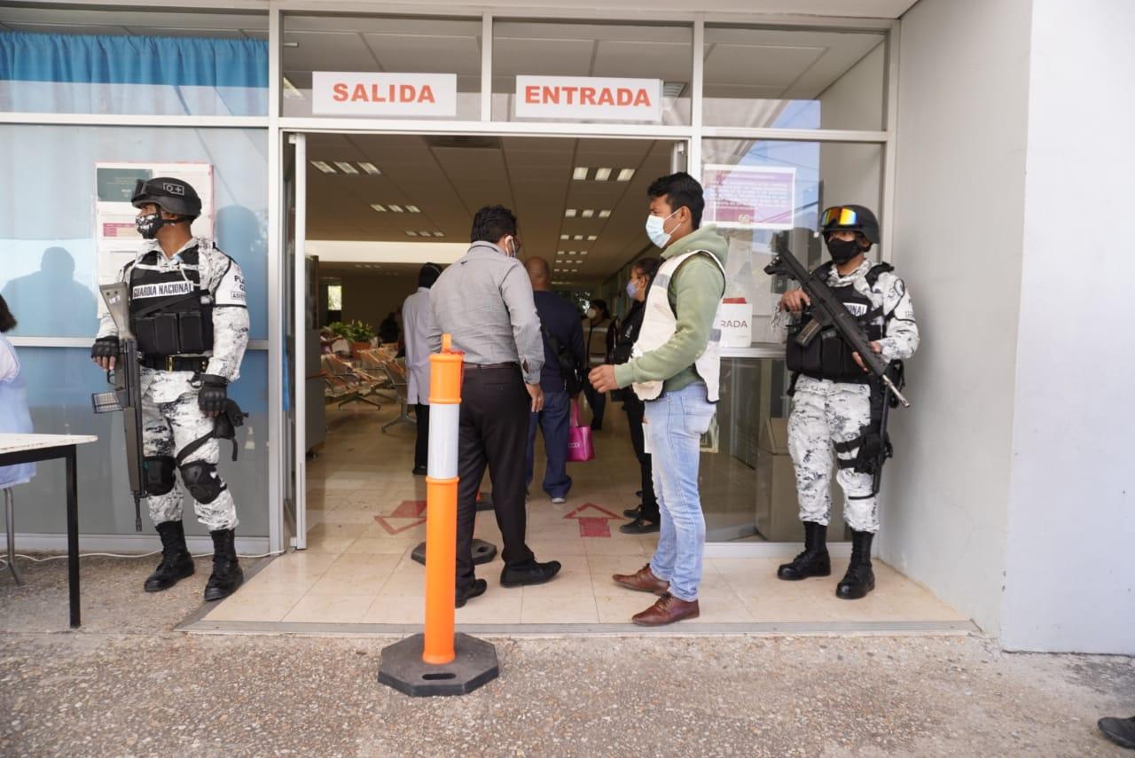 Oaxaca registra 675 casos con potencial de contagio de Covid-19 y 16 hospitales sin espacio para pacientes