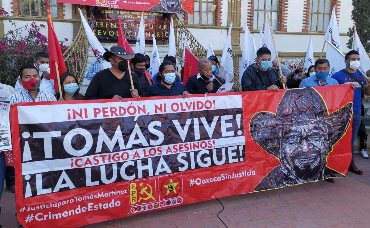 A 6 meses del asesinato de líder del FPR, exigen a la Fiscalía de Oaxaca informar avances