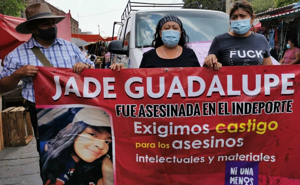 Llega a Oaxaca caravana de familiares de mujeres asesinadas en Chiapas; buscan audiencia con AMLO
