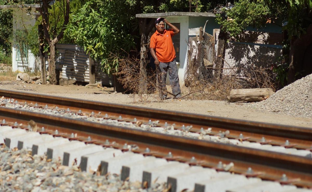 Ordenan en Oaxaca primer desalojo de vivienda en derecho de vía, por obras del Tren Transístmico