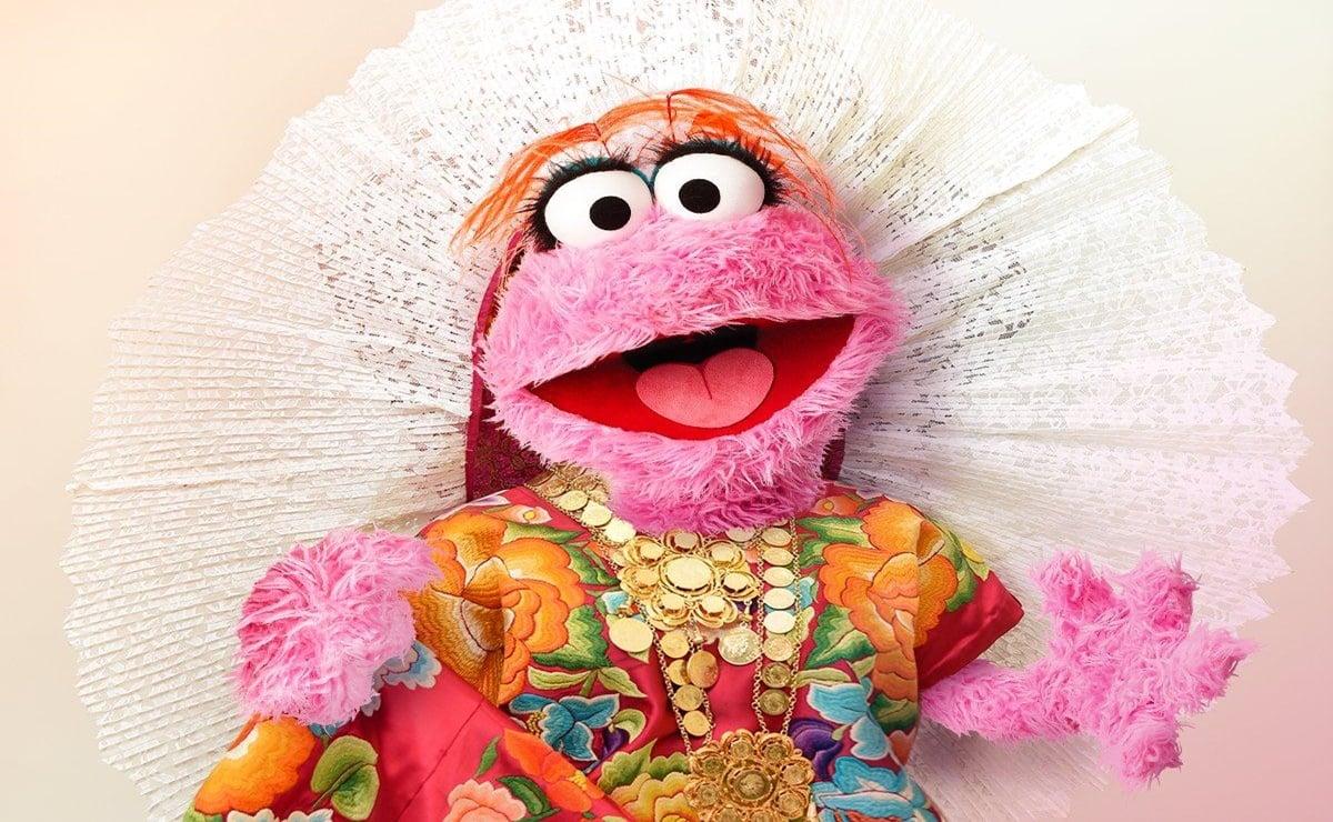 Lola, de Plaza Sésamo, luce traje tradicional del Istmo ¿Es originaria de Oaxaca?
