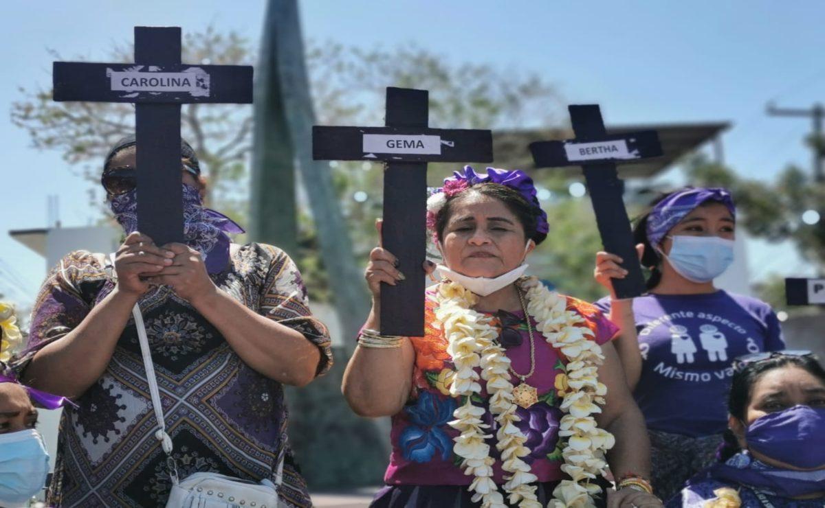Sólo tras presión social, muertes violentas de mujeres se indagan como feminicidio en el Istmo de Oaxaca