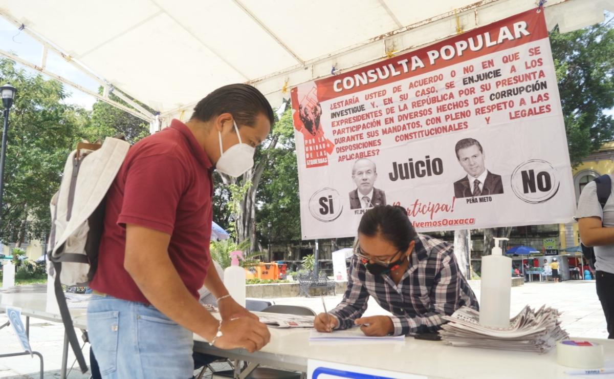 Anuncia Morena Oaxaca campaña para promover el juicio a expresidentes, pide votar Sí en consulta