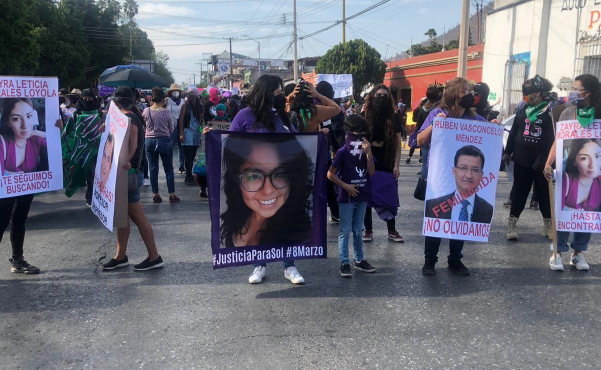 Pide Defensoría de Oaxaca a gobierno estatal y municipios respetar marchas de mujeres por el 8 de marzo