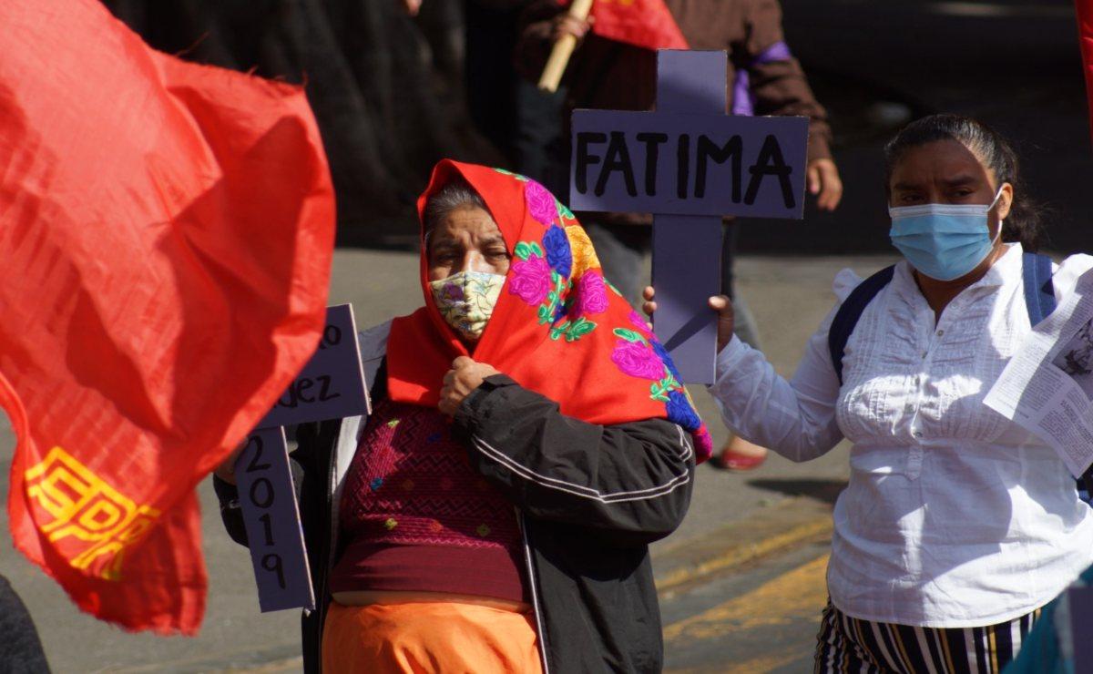 8M: Indígenas, feministas,  sindicalizadas: mujeres toman calles de Oaxaca para exigir alto a la violencia