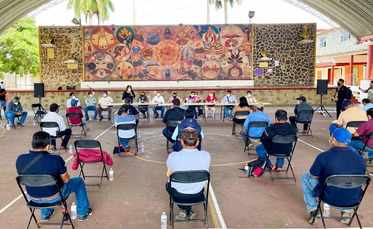 Concilian conflicto entre Matías Romero y 14 de sus agencias; acuerdan entrega de recursos federales