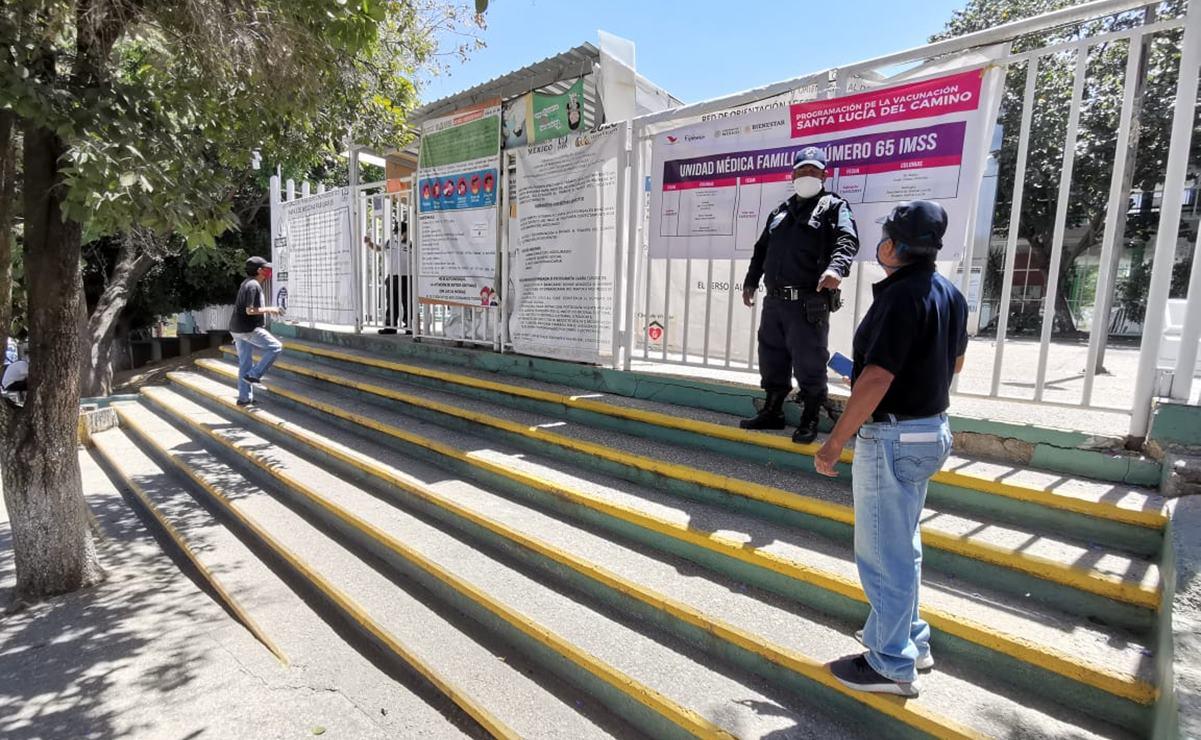 Organizan por colonias aplicación de vacuna Covid en Santa Lucía del Camino, para evitar horas de espera