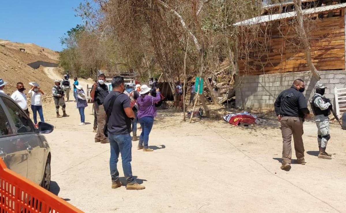 Denuncia FPR intento de desalojo a habitantes de Huatulco en terreno expropiado para proyecto turístico