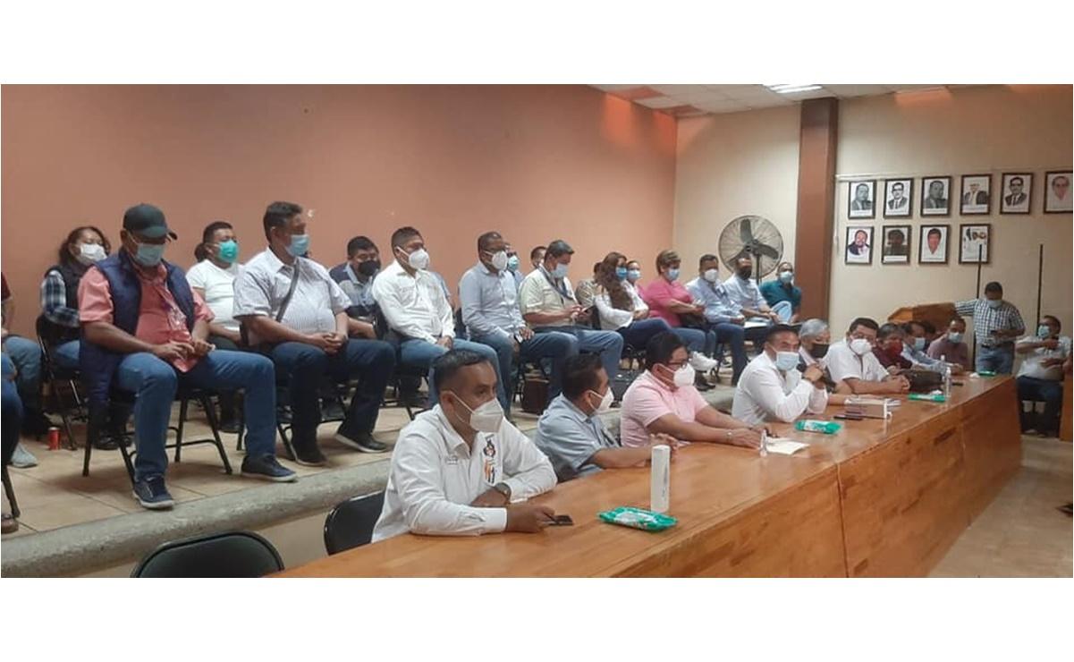 Se suma Sección 35 a paro laboral en Oaxaca, para exigir vacuna Covid a todo el personal de Salud