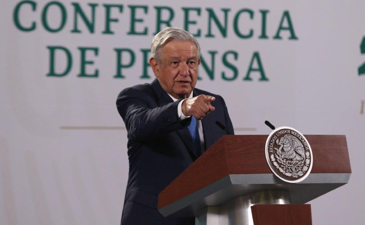 """AMLO rechaza que se hayan enviado vacunas """"echadas a perder"""" a 8 estados, entre estos Oaxaca"""