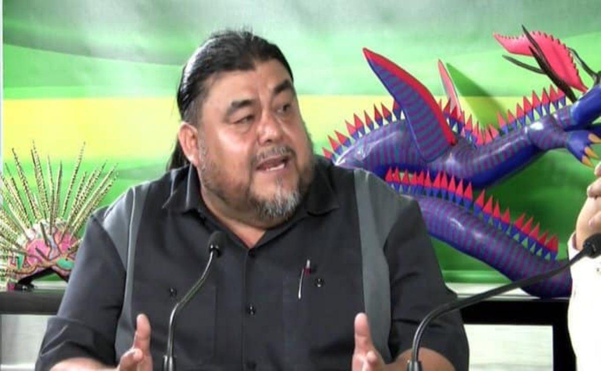 Protestas por vacunas en Oaxaca son ataques misóginos contra delegada de Bienestar, acusa Flavio Sosa