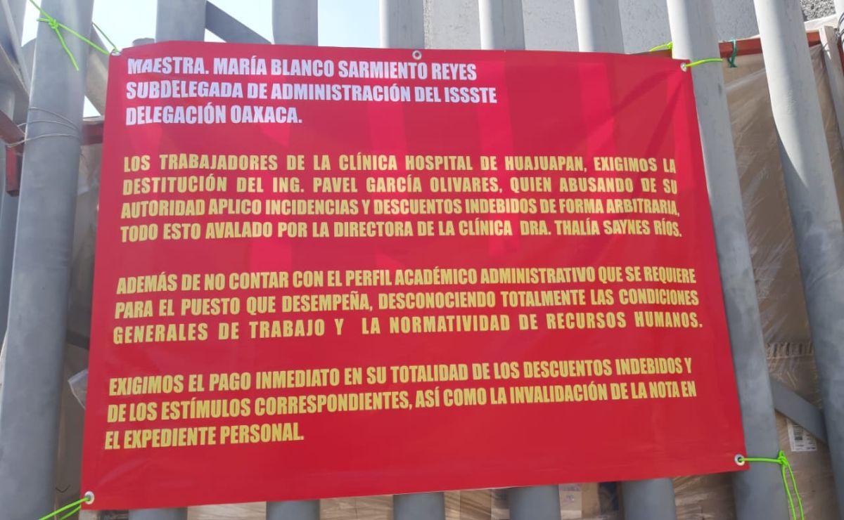 Exigen destitución de directivos del ISSSTE en Huajuapan por mal manejo de vacuna Covid